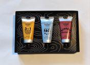 Matkailijan kosmetiikkapakkaus