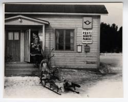 Postin kulkuvälineet -postikorttisarja