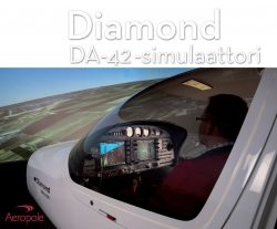 A gift card for Diamond DA42- simulator 1 h