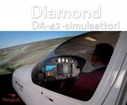 Lahjakortti Diamond DA42 -simulaattoriin 1 h