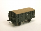 Box Car G (1:87 H0) -Scale Model. With Brakemans Platform