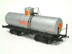 Tank Car Gmz (1:87 H0) -Scale Model. Old version