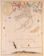 1700-luvun alun merikartta - näköispainos