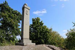 Kustaa II Aadolfin muistomerkki.