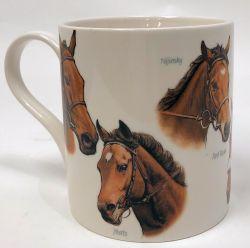 Hevonen -muki race horses