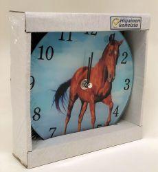 Hevonen seinä-/ pöytäkello