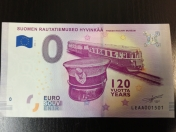 "0€ Banknote ""Finnish Railcar Dm7"""