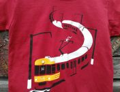 Sm-juna lasten t-paita
