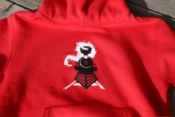 Red hoodie for children