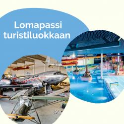 Lomapassi, turistiluokka: Aikuinen 30 €