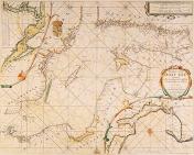Hollantilainen Itämeren alueen merikartta näköispainos