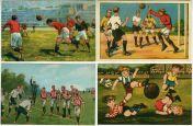 Jalkapallo-postikortit