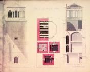 Jussarön majakan piirustus - näköispainos