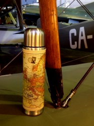 Map thermos flask