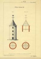 Pellingin tunnus-majakan piirustus -näköispainos