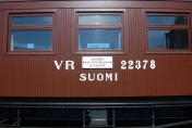 Passenger ticket for the Heritage Train Valtteri 18.5.2019