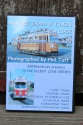 DVD Nordic Tram & Train Saga 1962. Volume Two Finland, Sweden and Denmark