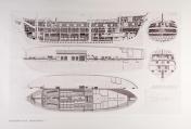 af Chapman: fregatin piirustus XXXII - näköispainos