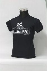 Rallimuseo mustavalkoinen T-paita