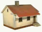 Pysäkkirakennus (1:87 H0) -pienoismalli
