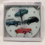 Volvo Wall Clock