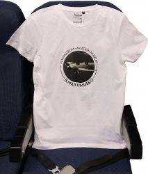 Ilmailumuseon miesten t-paita, valkoinen