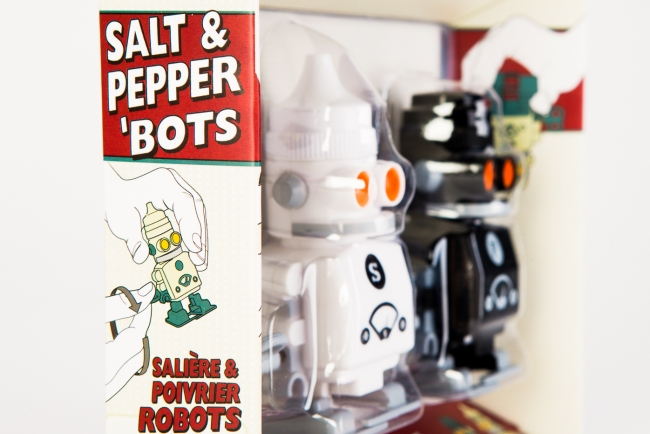 Salt pepper robots trafiikki Salt and pepper robots