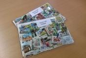 Pakkaus suomalaisia postimerkkejä