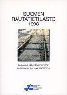 Vanha rautatiekirjallisuus: Suomen rautatietilasto 1998